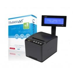 Zestaw drukarka fiskalna Posnet THERMAL XL2 ONLINE LAN + Subiekt GT