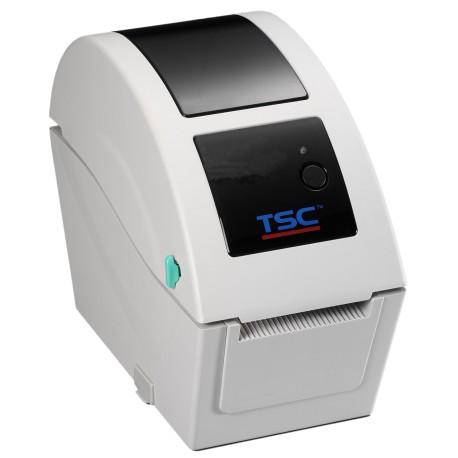 Drukarka etykiet TSC TDP-225 (termiczna, kodów kreskowych) z kablem USB w zestawie