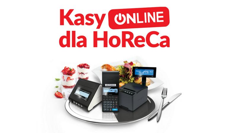 Kasy ONLINE dla Horeca
